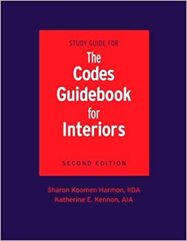 Study guide for the codes guidebook for interiors sharon k study guide for the codes guidebook for interiors 2nd edition fandeluxe Image collections
