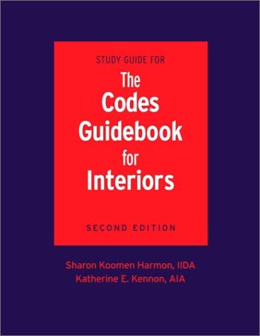 Study Guide for the Codes Guidebook for Interiors by Wiley