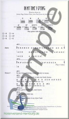 The Little Black Songbook – LED ZEPPELIN – acordes de guitarra ...