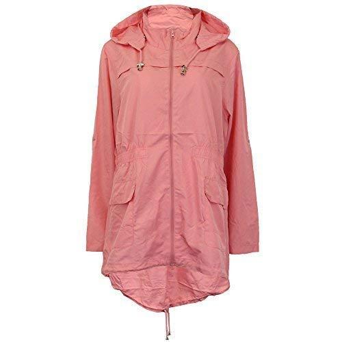 pretty nice 8c83f 5f33e Brave Soul Donna Impermeabile Giacca per la pioggia donna ...