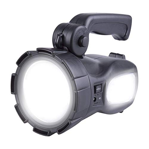 LED Rechargeable Handheld Searchlight High-power Super Bright CREE Tactical Spotlight Torch Lantern Flashlight