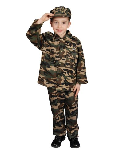 [Military Officer Set Child Costume Small 4-6 (31
