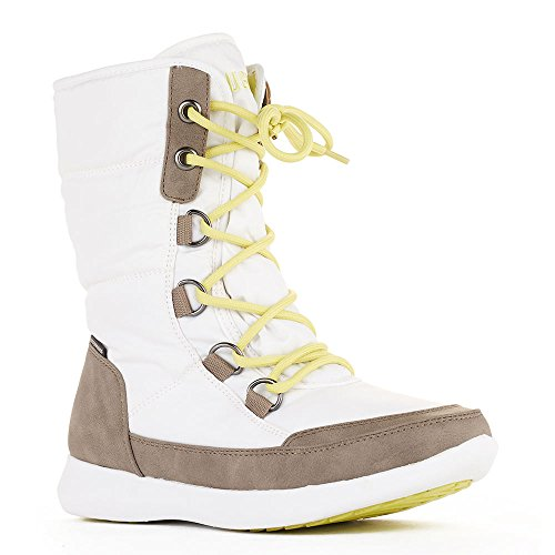 Cougar Schoenen Womens Snow Boots White Visage Nylon