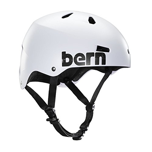 BERN Unlimited Macon Hard Hat Summer with Distress Logo, X-Large, Satin White