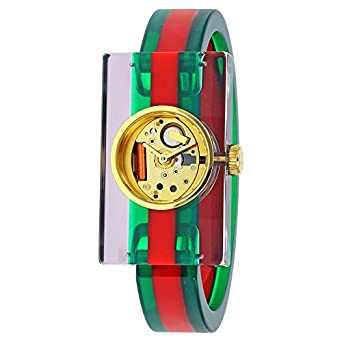 GUCCI PLEXI WATCH FASHION SHOW COLLECTION YA143503