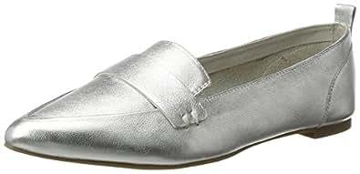 Aldo Slip On Shoes for Women - Silver