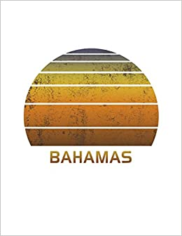 Bahamas Wide Ruled Notebook Paper For Work Home Or School