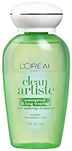L'Oréal Paris Clean Artiste Eye Makeup Remover, Sensitive Eyes, 4 fl. oz.