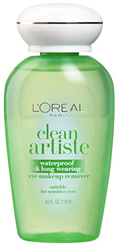 L'Oréal Paris Clean Artiste Eye Makeup Remover, Sensitive E