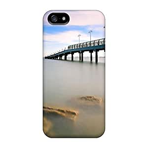 phone covers For Bridge Over Calm Sea Protective Case Cover Skin/iPhone 5c Case Cover WANGJING JINDA