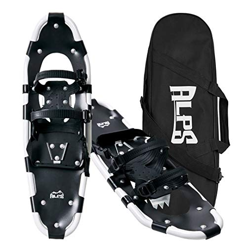 Alps All Terrian Snowshoes with Carrying Tote Bag, 25-Inch