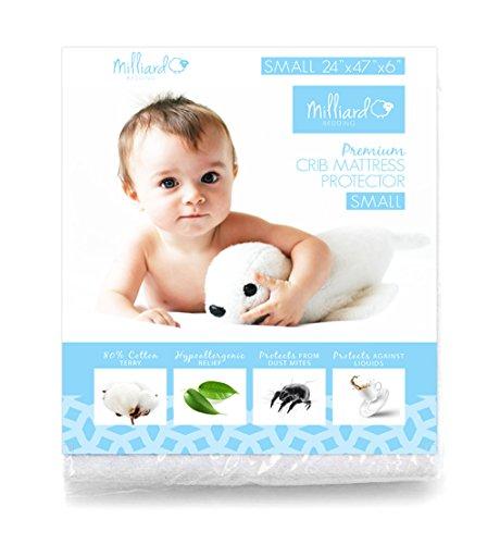 anti allergen mattress cover crib - 4