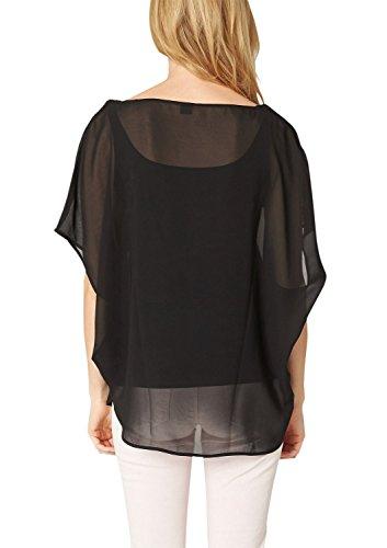 S.Oliver Premium 11.503.32.2061 - Camiseta Mujer Black 9999