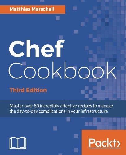 Download Chef Cookbook pdf