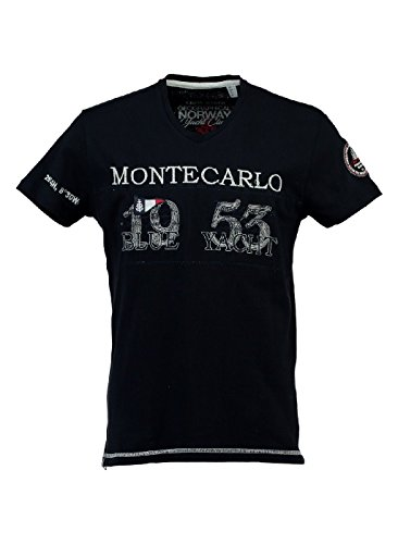 T Geographical Jajao Homme shirt Noir Norway Znnf5qw6