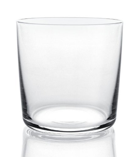 A di Alessi 3-1/4-Inch Glass Family Water Glass, Crystalline Glass, Set of 4