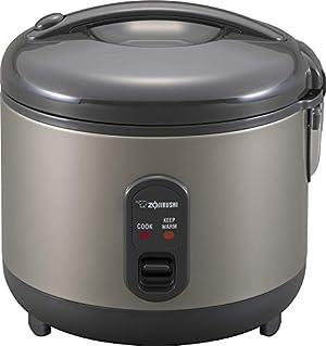 Zojirushi Rice Cooker and Warmer, 1.0-Liter, Metallic Gray
