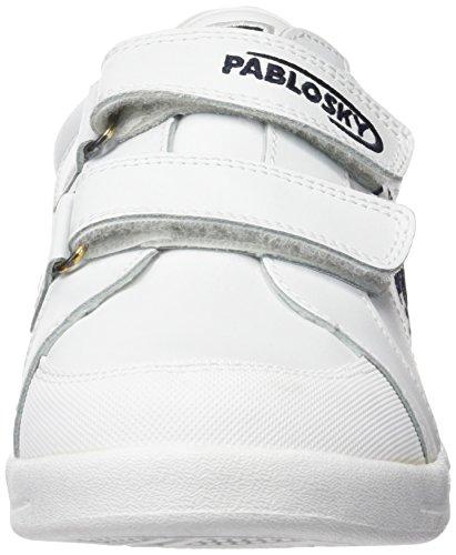 Pablosky 900002 - Zapatilla Baja Unisex Niños Blanco