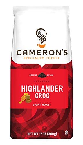 Camerons Coffee Highlander Grog, 12 Ounce Bag