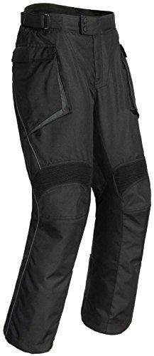 (Cortech Sequoia XC Men's Textile Street Motorcycle Pants - Black/Large)