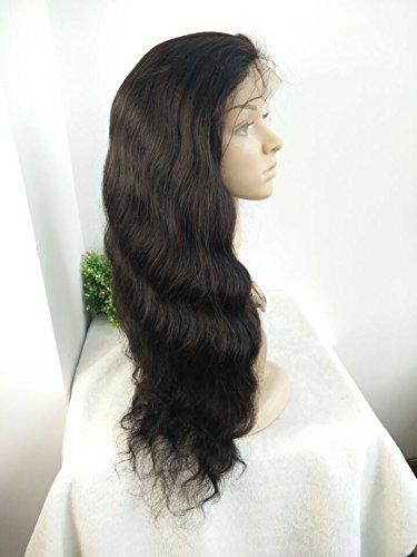 MALAYSIA VIRGIN HUMAN HAIR 150 DENSITY SILK TOP GLUELESS FULL LACE WIGS by April silk top wigs (Image #2)
