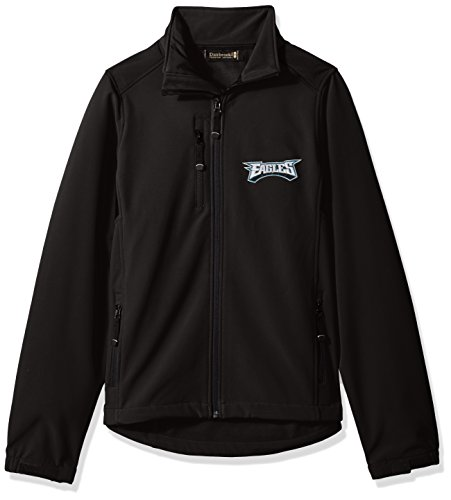 Dunbrooke Apparel NFL Philadelphia Eagles Men's Softshell Jacket, Small, Black by Dunbrooke Apparel
