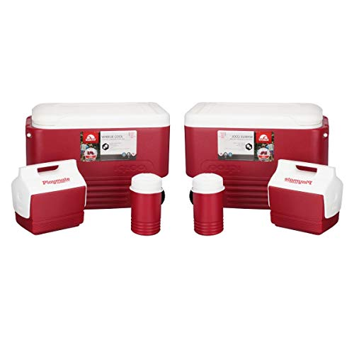 (Igloo 3-Piece Camping Combo (Red/Set of 2))