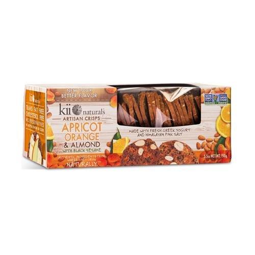 Apricot Orange & Almond Crisps (4 pack)