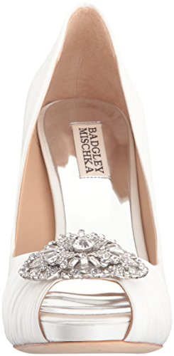 Badgley Desi White Mischka Dress Womens Pump EXHEqr1g