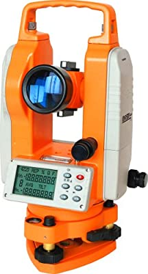 Johnson Level 40-6932 Two Second Theodolite, Orange