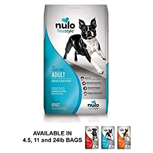 Nulo Adult Grain Free Dog Food: All Natural Dry Pet Food For Large And Small Breed Dogs (Salmon, 24Lb) 41