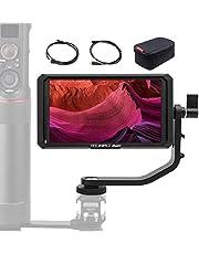FeelWorld Master MA7 Monitor da Campo 7'' Full HD, MA7 Montor DSLR Camera Field Monitor IPS 4K Full HD 1920x1200 Pixels HD Output, Monitor Mirrorless, Monitor Esterno Reflex