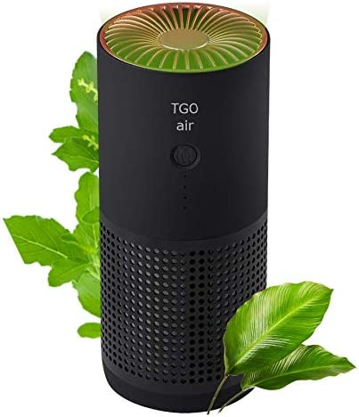 TGO air Purifier Black - True Activated Hepa Filter Carbon + Long Beach In stock Mall
