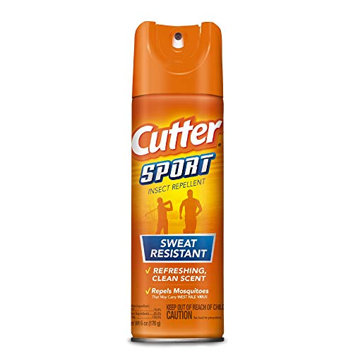 Cutter Sport Insect Repellent, Aerosol, 6-Ounce, ()