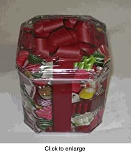 Deluxe Hard Christmas Candy Mix Tin