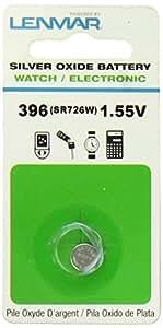 Lenmar WC396 SR726W 396 Silver Oxide Watch Battery