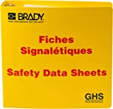 """Product review for Brady 121187 GHS - 3"""" Safety Data Sheet Binder - French"""