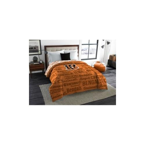 Northwest NFL 877 Bengals Anthem Full Comforter
