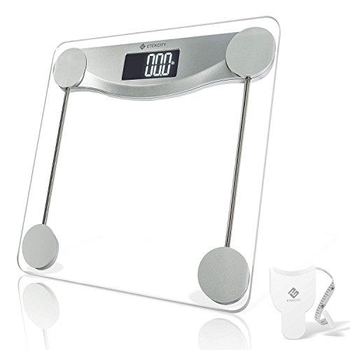 Cheap  Etekcity Digital Body Weight Bathroom Scale with Step-On Technology, 440 Pounds, Body..