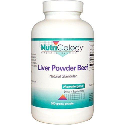 Beef Liver Powder - Nutricology Liver Powder Beef powder, 200 Grams