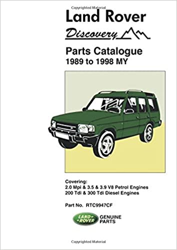 Land Rover Discovery 1989 1998 My Parts Catalogues Amazon Co Uk Ltd Brooklands Books 9781855206144 Books