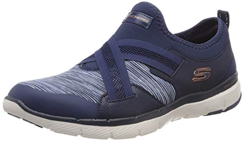Mujer Sin 0 navy Flex Cordones Para Skechers Zapatillas Nvy Azul Appeal 3 X8S6A