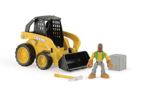 Ertl John Deere Gear Force Skidsteer Playset - John Deere Skidsteer Toy