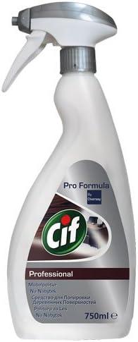 CIF Möbelpolitur Professional (Pro Formula), Pumpe - 6X 750 ml