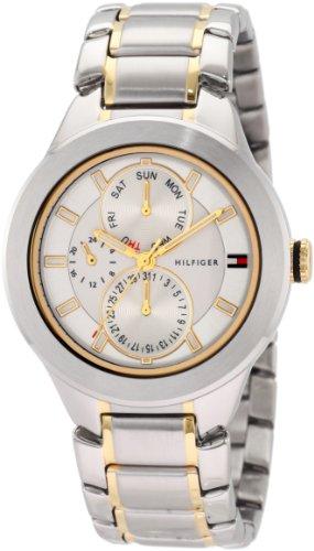(Tommy Hilfiger Men's 1710293 Classic Multi Eye Two tone Watch)