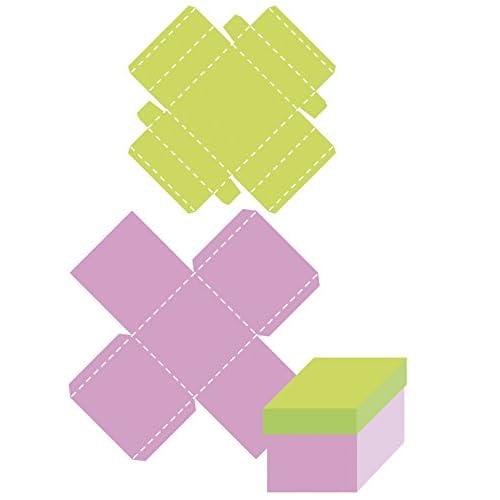 HappyCut Matrice découpe (Die) Boite carré + ornements - Happy Cut