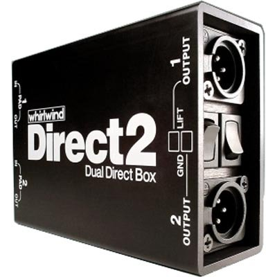 Whirlwind DIRECT2 Dual Direct Box by Whirlwind