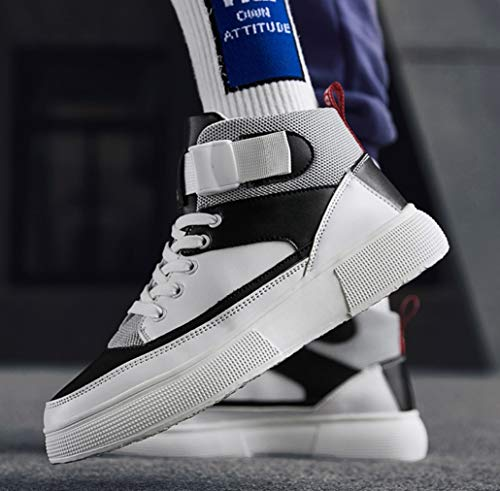 Air Liangxie 1 Skateboard Formatori White Daily Fourseasons Scarpe Sneakers Hop Altezza Unisex Aumentare Stivaletti Up Force Mens Casual High Da Penetrante Pizzo Hip Top 4rH64aq
