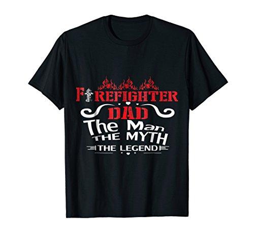 (Firefighter DAD Tshirt)