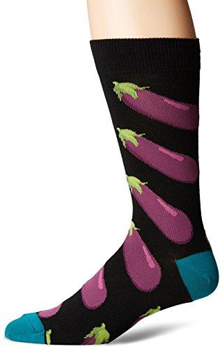 (Socksmith Men's Eggplant Black One Size)